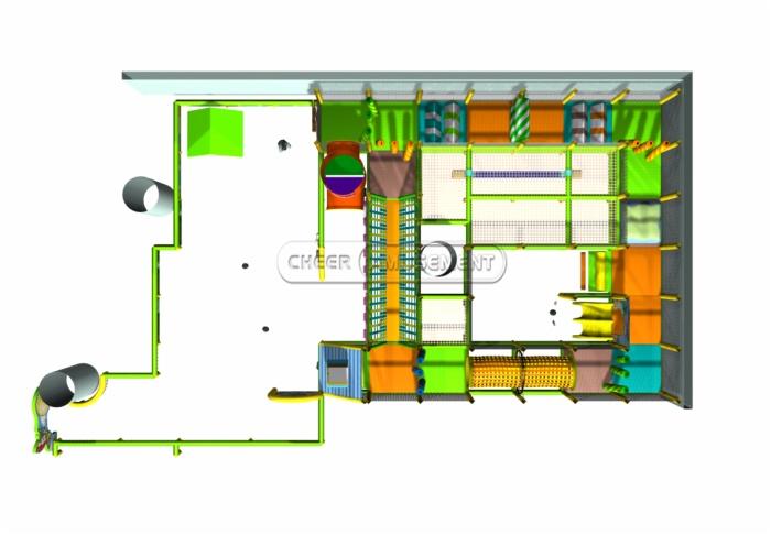 Cheer Amusement Kids Indoor Playground Equipment 20111206-CN-020-1