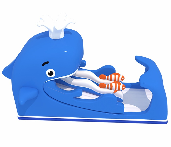 Cheer Amusement Giant Whale Shaped Slide