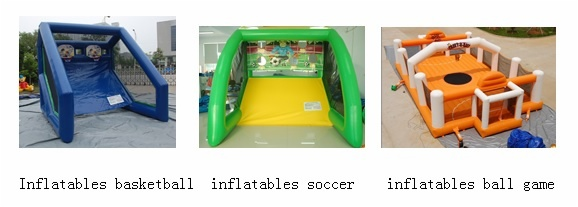 ball games inflatables sports