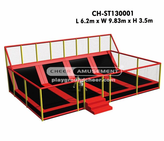 Cheer Amusement Big trampoline park CH-ST130001