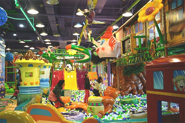 Indoor Playground Equipment by Cheer Amusement