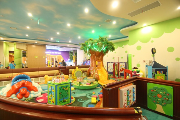 Jungle Themed Indoor Playground Equipment