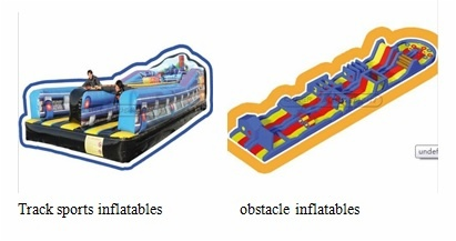 track and field sports inflatables