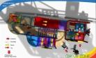 Cheer Amusement Children Circus Zone Theme Kids Game Fun City Indoor Playground Equipment 20120128-EG-026-2