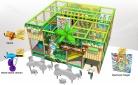 Cheer Amusement Jungle Themed Children Indoor Soft Playground Equipment