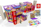 Cheer Amusement Circus Themed Children Play Centre Indoor Soft Playground Equipment