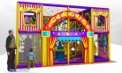 Cheer Amusement Circus Themed Children Indoor Soft Playground Equipment