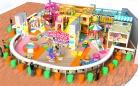 Cheer Amusement Village Themed Indoor Playground Equipment