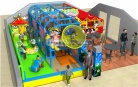 Cheer Amusement Children Play Centre Indoor Soft Playground Equipment