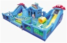 Cheer Amusement Ocean Theme Inflatable Fun City Amusement Equipment Supply