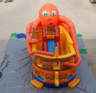 Cheer Amusement Children Octopus Slide Inflatable Slide Softplay Toys