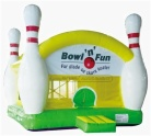Cheer Amusement Bowling Modelling Trampoline Inflatable Bouncer Amusement Equipment Supply