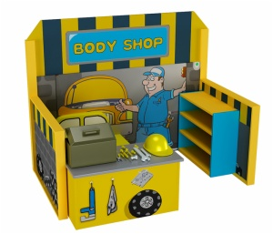 Cheer Amusement Body Shop role play equipment